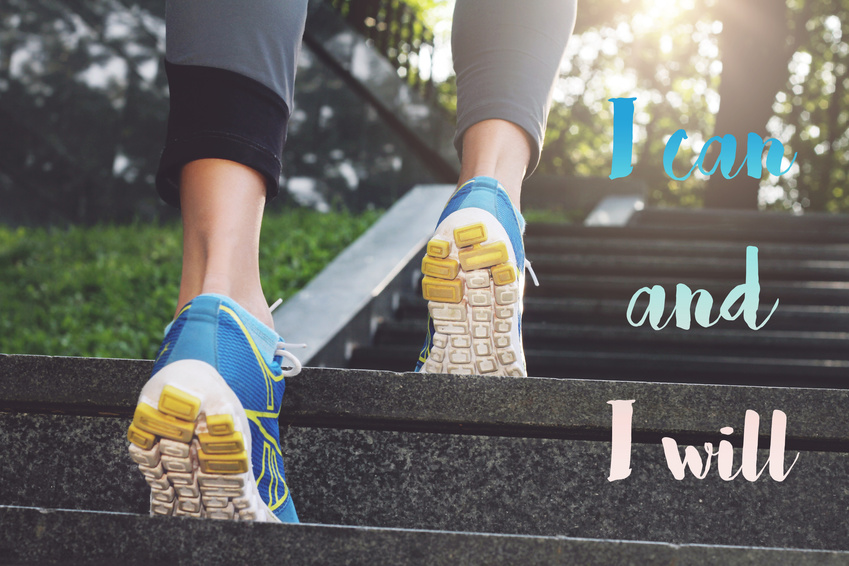 Running fitness motivation. Worry less Run more. Inspirational quote. Sport, fitness, active lifestyle concept