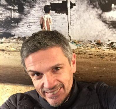Selfie Christophe Adam