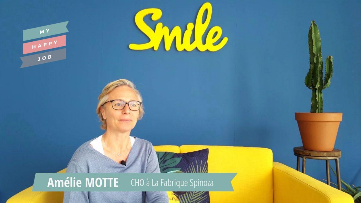 Vignette Amélie Motte My Happy Job