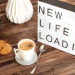 light box message : new life loading
