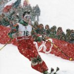 JO Hiver Albertville 1992, Ski acrobatique, bosses Hommes – Edgar GROSPIRON (FRA) 1e.