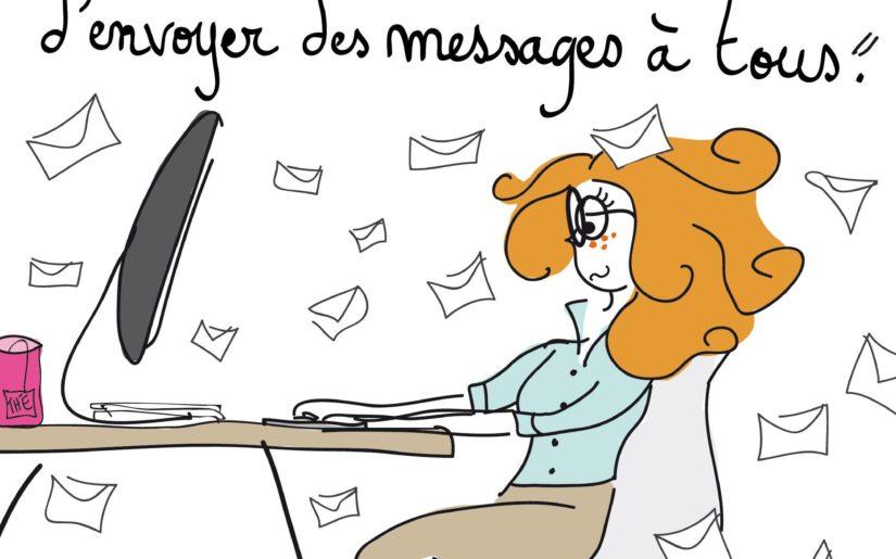 Julie mails