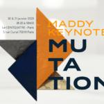 Maddy keynote