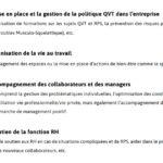 Responsable QVT missions